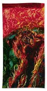 The Cross, The World And Fire - Bgcwf Beach Towel