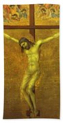 The Crucifixion 1311 Beach Towel