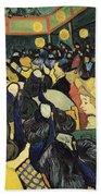 The Dance Hall At Arles Beach Towel by Vincent Van Gogh