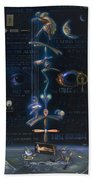 The Danse Macabre Beach Towel