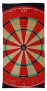 The Dart Board Beach Towel