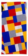 The De Stijl Dolls Beach Sheet