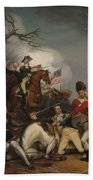 The Death Of General Mercer At The Battle Of Princeton, January 3, 1777  Beach Towel