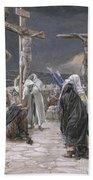The Death Of Jesus Beach Towel
