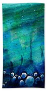 The Deep Places Beach Towel