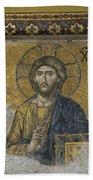 The Dees Mosaic In Hagia Sophia Beach Towel