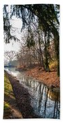 The Delaware Canal In New Hope Pa Beach Towel