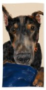 The Doberman Beach Towel