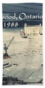 The Dock - Revisited Beach Towel