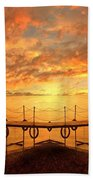 The Dock Beach Towel