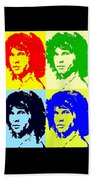 The Doors And Jimmy Beach Towel by Robert Margetts