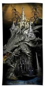 The Dragons Castle Beach Towel