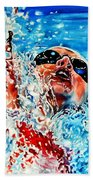 The Dream Becomes Reality Beach Towel
