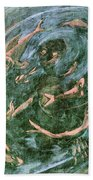 The Dream Of The Fish 1 By Walter Gramatte Beach Towel