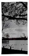 The Duck Pond Beach Towel
