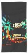 The Dunes Casino Beach Towel
