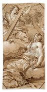 The Ecstasy Of St Mary Magdalene Beach Towel