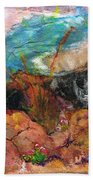The Edge Of The Cliff Beach Towel