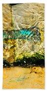 The Emerald Bow Tie Beach Towel