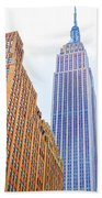 The Empire State Building 4 Beach Towel