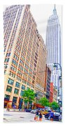 The Empire State Building 6 Beach Towel
