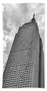 The Empire State Building 7 Beach Towel