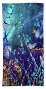 The Enchanted Garden Beach Towel