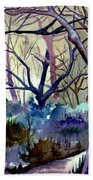 The Enchanted Path Beach Towel
