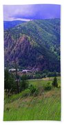 The Entiat Valley  Beach Towel