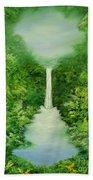 The Everlasting Rain Forest Beach Towel