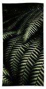 The Exotic Dark Jungle Beach Towel