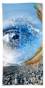 The Eye Of Nature 3 Beach Towel