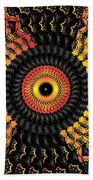 The Eye Of The Storm Beach Towel