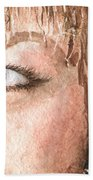 The Eyes Have It - Shelly Beach Towel