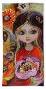 The Fairies Of Zodiac Series - Scorpio Beach Towel