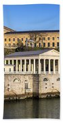The Fairmount Water Works And Art Museum Beach Towel