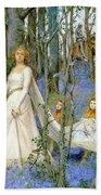 The Fairy Wood Beach Towel by Henry Meynell Rheam