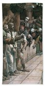 The False Witness Beach Towel by Tissot