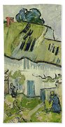 The Farm In Summer Beach Towel