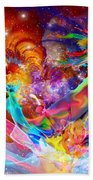 The Fathers Paint Brush Beach Towel