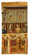 The Feast Of Herod And The Beheading Of The Baptist Beach Towel