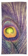 The Feather In Colour Beach Towel