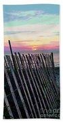 The Fence II  Beach Towel