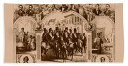 The Fifteenth Amendment And Its Results Beach Towel