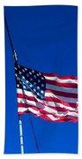 The Flag Of Usa  Beach Towel