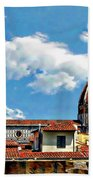 The Florence Cathedral Beach Towel