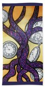 The Flow Of Time Beach Towel
