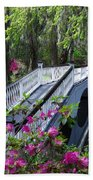 The Flower Bridge Beach Towel