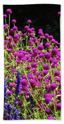 The Flowers And The Bees Beach Towel