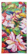 The Flowers Bloom Beach Towel